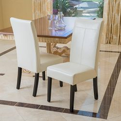 Christopher Knight Home 295164 Lissa Dining Chair, Ivory