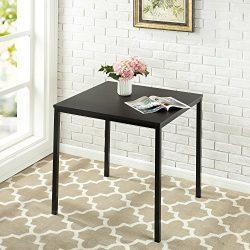 Zinus Modern Studio Collection Soho Square Table, Espresso