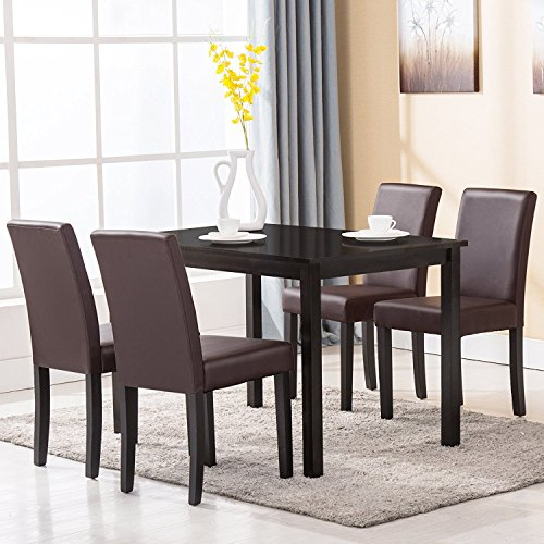 Mecor Dining Chairs Set Of 4 Kitchen Leather Chair With