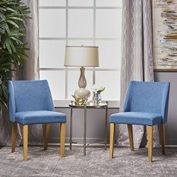 Radcliffe Fabric Side Chairs (Set of 2) (Blue)