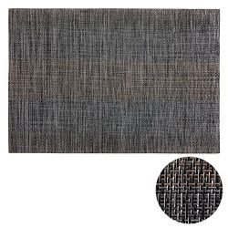 Deconovo Gray Placemats set of 8 for Dining Table Heat Insulation Stain Resistant Anti-Skid Tabl ...