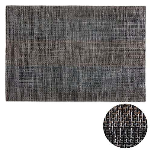 Deconovo Gray Placemats Set Of 8 For Dining Table Heat