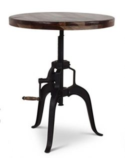Steve Silver Sparrow Round Crank Pub Table