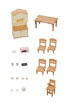 Calico Critters Cc1809 Doll Furniture Set, Multi