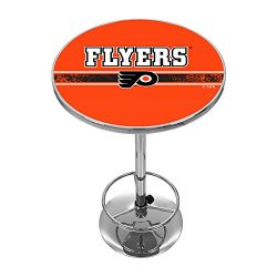 Trademark Gameroom NHL Philadelphia Flyers Chrome Pub Table