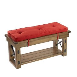 Klear Vu Scarlett Bench Pad, Red