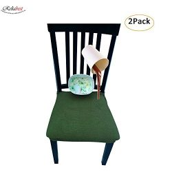 Waterproof Dining Chair Cover Protector – Pack of 2 – Perfect For Pets, Kids, Elderl ...