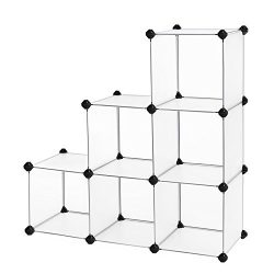 SONGMICS Storage Cube Organizer DIY Closet Cabinet Chests Space-saving ULPC06W