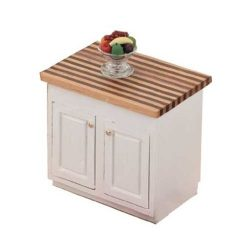 Dollhouse Miniature The Kitchen Collection – Center Island Cabinet