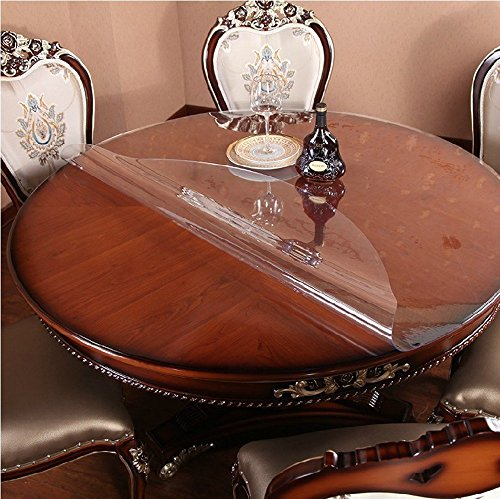 Clear Table Protector Round Coffee Sofa Bedside Dining