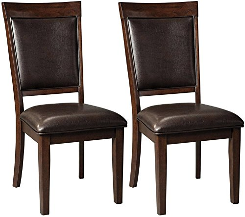 Ashley Furniture Signature Design – Shadyn Dining Side Chair – Set of 2 – Casu ...