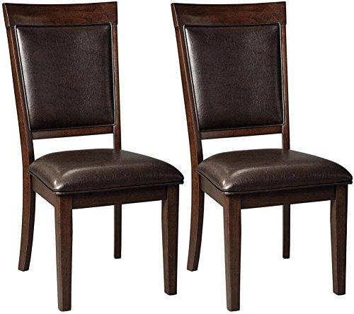 Ashley Furniture Signature Design – Shadyn Dining Side Chair – Set of 2 – Casu ...
