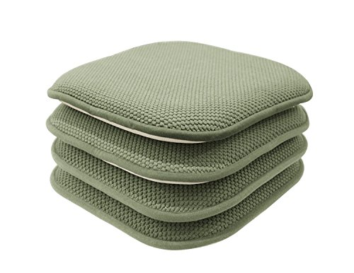 GoodGram 4 Pack Non Slip Honeycomb Premium Comfort Memory