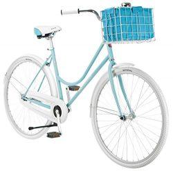 Schwinn Women's Scenic 700c Dutch Bicycle, Light Blue, 16-Inch Frame
