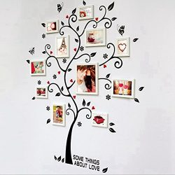 KitMax (TM) Removable Personalized Pack of 2 Sets Family Tree Nursery Bathroom Kitchen Bedroom D ...