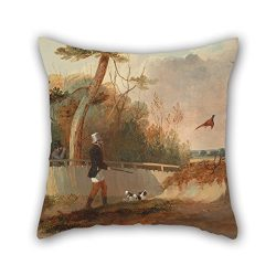 Slimmingpiggy Oil Painting Samuel John Egbert Jones – Pheasant Shooting Pillow Covers 18 X ...