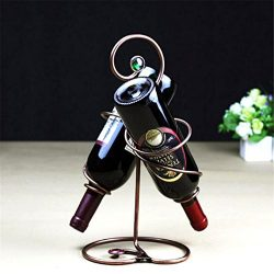 Wine Rack Iron Shelf Holder Stemware Rack Stones For Whisky Beer Brewing Equipment Stand For Bot ...