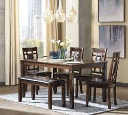 Signature Design by Ashley D384-325 Bennox Table, Brown
