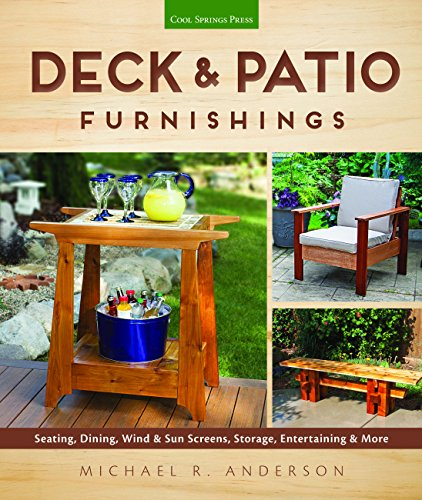 Deck & Patio Furnishings: Seating, Dining, Wind & Sun Screens, Storage, Entertaining &am ...