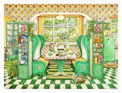 Pintoo H2002 – Janet Kruskamp – Breakfast Nook – 1200 Piece Plastic Puzzle