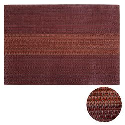 Deconovo Set of 8 Placemats Non-slip Heat Insulation Stain resistant Washable Placemat for dinin ...