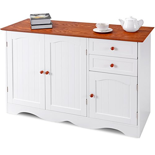 giantex buffet storage cabinet kitchen dining room