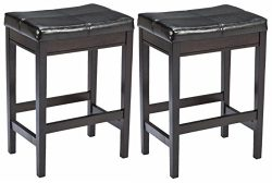 Ashley Furniture Signature Design – Kimonte Upholstered Barstool – Counter Height &# ...