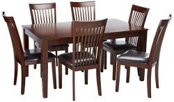 Ashley Furniture Signature Design – Mallenton Rectangular 7-Piece Dining Room Set –  ...