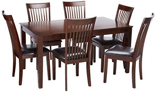 Ashley Furniture Signature Design – Mallenton Rectangular 7-Piece Dining Room Set –  ...
