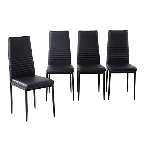Modern High Kitchen Chairs: Modern Desk Chair, Dining Side Chairs Set Of 4