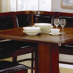 Coaster Home Furnishings Casual Bench, Brown/Dark Brown