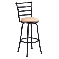 Modern Swivel Bar Stool Steel Frame Counter Height Barstool Bistro Pub Chair New