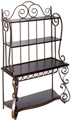 Standard Furniture 13429 Bombay Baker's Rack, Brown