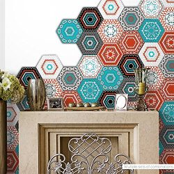 AmazingWall Colorful Embroidery Pattern Wall Sticker Art Decor Mural Decal Living Room Bedroom A ...