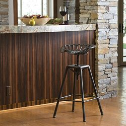Great Deal Furniture Chapman Saddle Black Barstool Christopher Knight Home