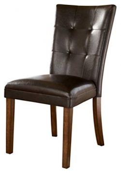 Ashley Furniture Signature Design – Lacey Dining Side Chair – Set of 2 – Mediu ...