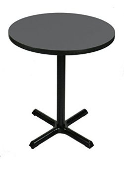 Correll BXB36R-07 -36″ Round 42″ Standing / Barstool Height , Café, & Break Room ...