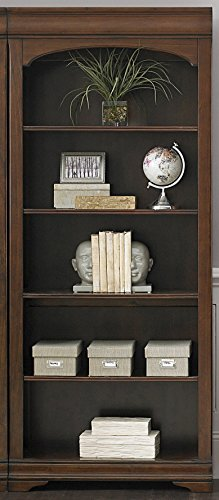 Liberty Furniture 901-HO201 Chateau Valley Home Office Bunching Bookcase, 32″ x 14″  ...