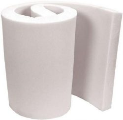 FoamTouch Upholstery Foam 2″ x 24″ x 72″ High Density Cushion