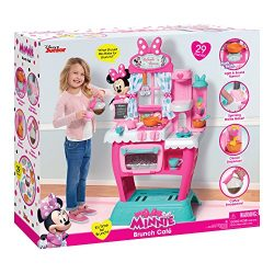 Just Play 89371 Minnie's Happy Helpers Brunch Café Kitchen Accessory Set, 39″