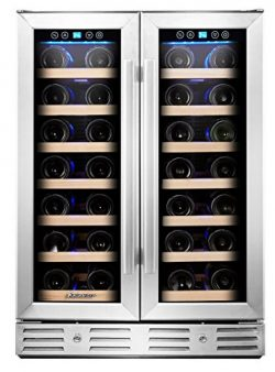 Kalamera Wine Cooler – Fit Perfectly into 24 inch Space Under Counter or Freestanding R ...