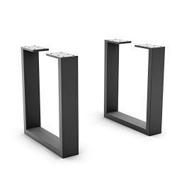 UMBUZÖ Steel DIY Bench Legs (Set of 2)