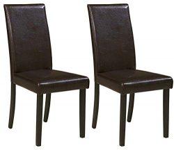 Ashley Furniture Signature Design – Kimonte Dining Room Chair – Contemporary – ...