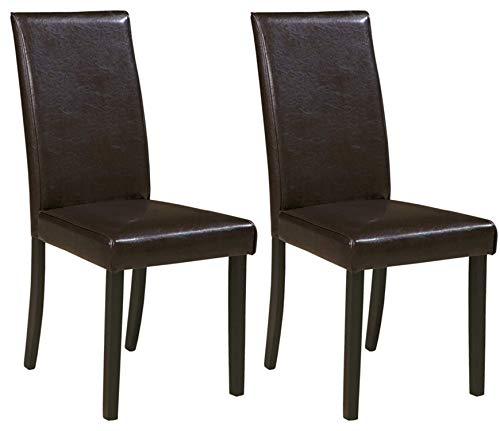 Ashley Furniture Signature Design – Kimonte Dining Room Chair – Contemporary – ...