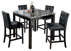 Ashley Furniture Signature Design – Maysville Counter Height Dining Room Set – 1 Tab ...