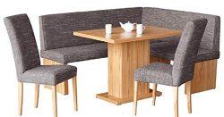 Capri Breakfast Nook Complete Upholstery Corner Bench Kitchen Nook
