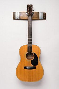 Napa Valley Wine Barrel Guitar Rack, Natural Finish