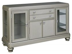 Ashley Furniture Signature Design – Leahlyn Dining Room Server – Old World Tradition ...