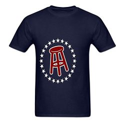 Gildaper Barstool Sports O Neck Men's Generic T Shirt Blue Large