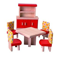 PlanToys Doll House Dining Room – Neo Style